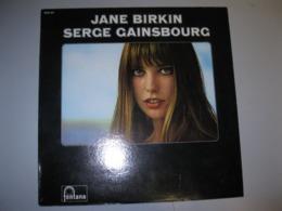"VINYLE ""JANE BIRKIN-SERGE GAINSBOURG"" 33 T FONTANA / PHONOGRAM (1968/69) - Vinyl Records"
