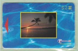 Fiji - 2000 Dawn & Dusk - $2 Small Sunset - FIJ-159 - VFU - Fiji