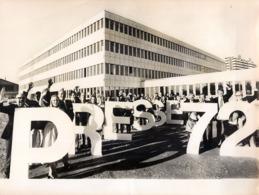 OLYMPIC GAMES MÜNCHEN JEUX OLYMPIQUES MUNICH 1972 QUARTIER DE LA PRESSE JOURNALISTE HANS KLEIN - Sport