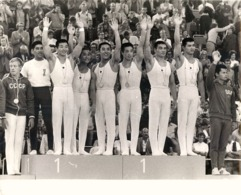OLYMPIC GAMES MÜNCHEN JEUX OLYMPIQUES MUNICH 1972 JAPANESE GYMNAST TEAM GYMNASTIQUE - Deportes