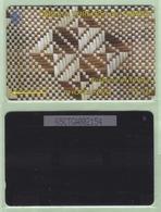 """Tonga - 1995 Second Issue - Textures - $$10 White & Brown  - TON-5a - """"65CTGB"""" - VFU - Tonga"""