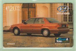 Fiji - 1992 Martin Motor Co - $20 Hyundai Sonata - FIJ-011 - FU - Fiji