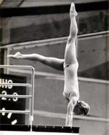 OLYMPIC GAMES MÜNCHEN JEUX OLYMPIQUES MUNICH 1972 ULRIKA KNAPE PLATFORM DIVING SWEDEN PLONGEON - Sports