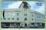 Fiji - 1995 Suva Landmarks - $5 Burns Philip Building - FIJ-060 - VFU - Fiji