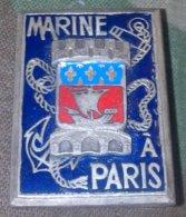 Insigne De La Marine Nationale - Paris - Blason - Marinera
