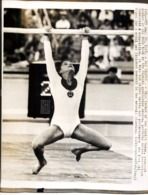 OLYMPIC GAMES MÜNCHEN JEUX OLYMPIQUES MUNICH 1972 OLGA KORBUT SOVIET UNION U.R.S.S. GYMNASTIC - Juegos Olímpicos