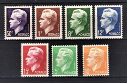 MONACO 1950 / SERIE  N°344 A 350 / NEUFS** /10 - Monaco