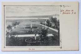 The Park, Ste. Anne De Beaupre, P.Q. Quebec, Canada, Early 1900s - Ste. Anne De Beaupré