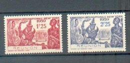 REU 695 - YT 156 - 157 ** - Réunion (1852-1975)
