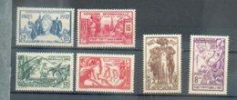 INDE 305 - YT 109 à 114 * - Indien (1892-1954)