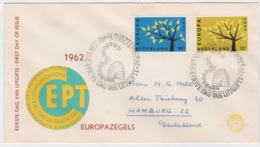 Netherlands 1962 FDC Europa CEPT (T3-36) - 1962