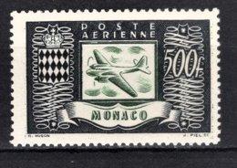 MONACO 1949 BORD DE FEUILLE  N° 43  - NEUF** /3 - Poste Aérienne
