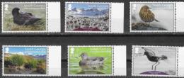 SOUTH GEORGIA , 2019, MNH,HABITATS RESTORED, BIRDS, LANDSCAPES, 6v - Birds