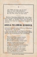 Kortenberg, Cortenberg, 1898, Angela Derboven, - Images Religieuses
