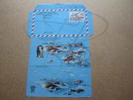 VEND AEROGRAMME DES T.A.A.F. N° 1 , NEUF !!! (a) - Airmail