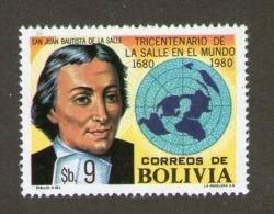 BOLIVIE 1980 ECOLES CHRETIENNES  YVERT N°602  NEUF MNH** - Bolivia
