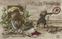 Militaria LA REVANCHE HONNEUR Et PATRIE  General JOFFRE   RV - Patriottiche