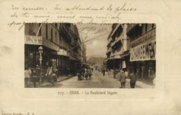 ORAN  Le Boulevard Séguin Animée RV - Oran