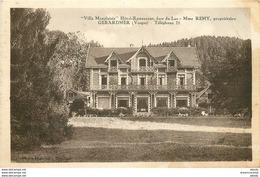 WW 88 GERARDMER. Villa Monplaisir Hôtel Restaurant - Gerardmer