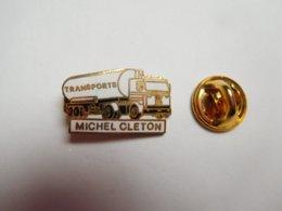 Beau Pin's En EGF , Transport Camion , Citerne  , Michel Cléton , Nielles Les Bléquin , Pas De Calais - Transports