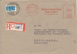 HANNOVER-Linden - 1949 , Freistempel:  - R-Brief Nach Göttingen - [7] Repubblica Federale