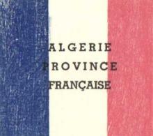 Drapeau ALGERIE PROVINCE FRANCAISE  RV - Algérie