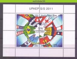 Nfh0528 100 JAAR UPAEP VLAGGEN FLAGS Postunion Von Amerika, Spanien Und Portugal ARUBA 2011 PF/MNH - Curacao, Netherlands Antilles, Aruba