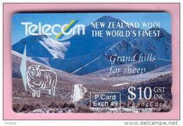 New Zealand - Private Overprint - 1992 Phonecard Exchange #9 $10 - VFU - NZ-PO-12 - Nuova Zelanda