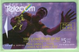 New Zealand - Private Overprint - 1992 Phonecard Exchange #10 $10 - VFU - NZ-PO-13 - Nuova Zelanda