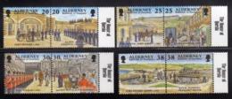 ALDERNEY 1999 GARRISON ISLAND ISOLA COMPLETE SET SERIE COMPLETA MNH - Alderney