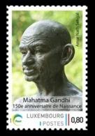 Luxembourg (Meng Post) 2019 No. 129 Mahatma Gandhi MNH ** - Ungebraucht