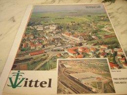 ANCIENNE PUBLICITE   VITTEL 1961 - Posters