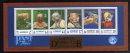 ALDERNEY 1998 DIVING CLUB BLOCK SHEET BLOCCO FOGLIETTO MNH - Alderney