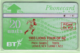 New Zealand - Private Overprint - 1992 Phonecard Exchange #10 - VFU - NZ-PO-13A - Nuova Zelanda