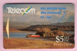 New Zealand - Private Overprint - 1992 Abel Tasman $5 - VFU - NZ-PO-15 - Nuova Zelanda