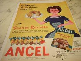 ANCIENNE PUBLICITE LEVURE D ALSACE DE ANCEL 1961 - Posters