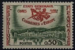 N° 1244 - X X - ( F 457 ) - ( Etats Généraux Des Communes D'Europes ) - Frankreich