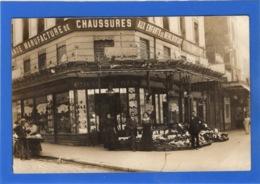 """75 PARIS - 20ème, Carte Photo Du Magasin """"Aux Enfants De Ménilmontant"""" - District 20"""