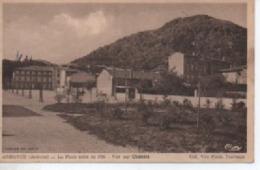ANDANCE  LA PLACE CREE EN 1936  VUE SUR CHATELET - France
