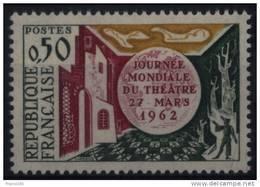 N° 1334 - X X - ( F 501 ) - ( Journée Mondiale Du Théâtre  ) - France