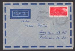 """Schiffspost Deutsche Demokratische Rebpublik FDGB Urlauberschiff """"MS Völkerfreundschaft"""" MWSt. 13.5.61,Lp-Brief Vom MS - Schiffahrt"""