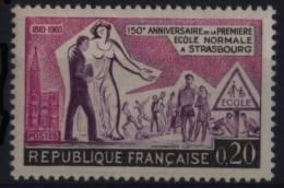 N° 1254 - X X - ( F 461 ) - ( 150e Anniversaire De La 1ére Ecole Normale à Strasbourg ) - France
