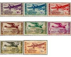 Ref. 608830 * MNH * - FRENCH EQUATORIAL AFRICA. 1943. AIRCRAFTS . AVIONES - Ongebruikt