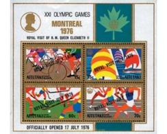 Ref. 53605 * MNH * - AITUTAKI. 1976. QUEEN ELIZABETH II'S VISIT TO MONTREAL . VISITA DE LA REINA ISABEL II A MONTREAL - Estate 1976: Montreal