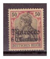 Marokko, Nr. 28, M€ 70, Postfrisch - Deutsche Post In Marokko