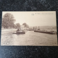 Liege / Meuse Et Quai Du Coronmeuse (schip) 19?? Ed. Flion - Liege