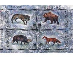 Ref. 78808 * MNH * - ALBANIA. 2000. FAUNA . FAUNA - Ohne Zuordnung