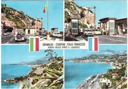 1997 £800 NATALE SU CARTOLINA GRIMALDI CONFINE ITALO FRANCESE VALICO PONTE S.LUDOVICO - Imperia