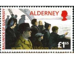 Ref. 165603 * MNH * - ALDERNEY. 1995. 50th ANNIVERSARY OF ISLANDERS RETURN . 50 ANIVERSARIO DEL REGRESO DE LOS EVACUADOS - Alderney