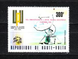 Alto Volta   - 1974.  UPU. Antenna Parabolica. MNH - Telecom